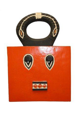 Masques Baoulé carré